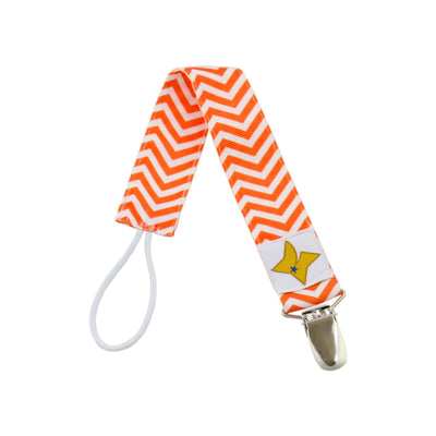 Pacifier Clip - Chevron Design