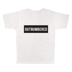Outnumbered, 100% Polyester Adult Shirt