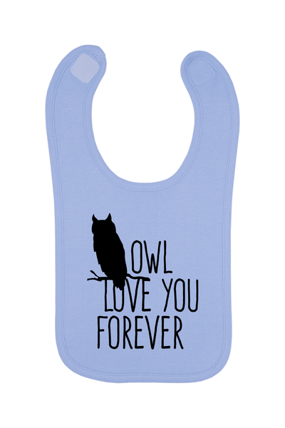 Owl Love You Forever Baby Bib, 0-24 Months