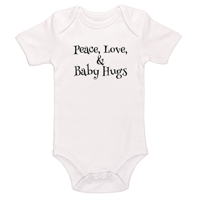 Peace, Love, And Baby Hugs Baby / Toddler Bodysuit