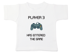 Player 3 Has Entered The Game Tee
