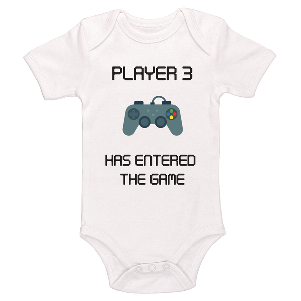 Player 3 Has Entered The Game Bodysuit