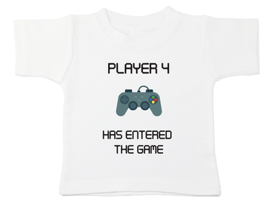 Player 4 Has Entered The Game Tee