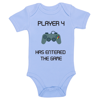 Player 4 Has Entered The Game Baby / Toddler Bodysuit