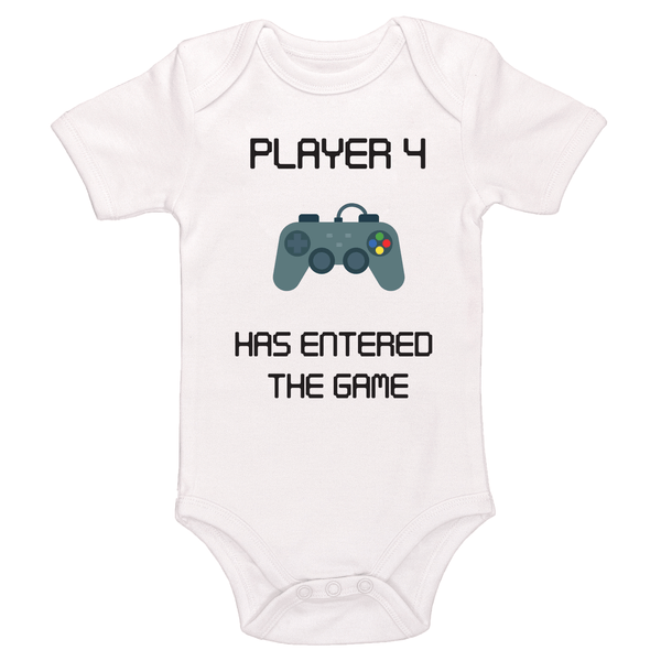 Player 4 Has Entered The Game Bodysuit