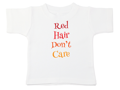 Red Hair Don't Care Tee