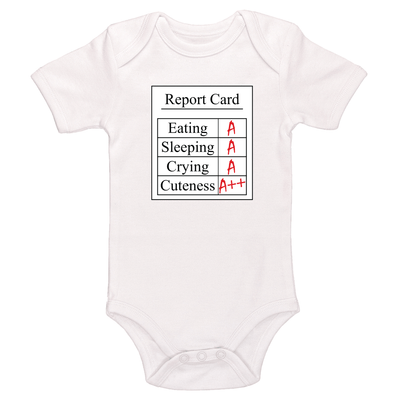 Report Card Baby / Toddler Bodysuit