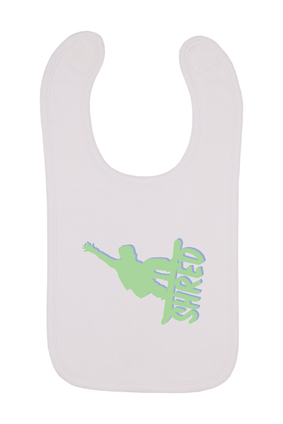 Shred Baby Bib, 0-24 Months