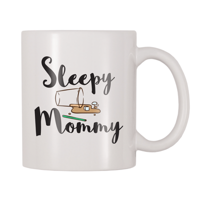 Sleepy Mommy 11oz Coffee Mug