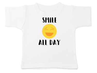 Smile All Day Tee