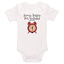 Snooze Button Not Included Baby / Toddler Bodysuit