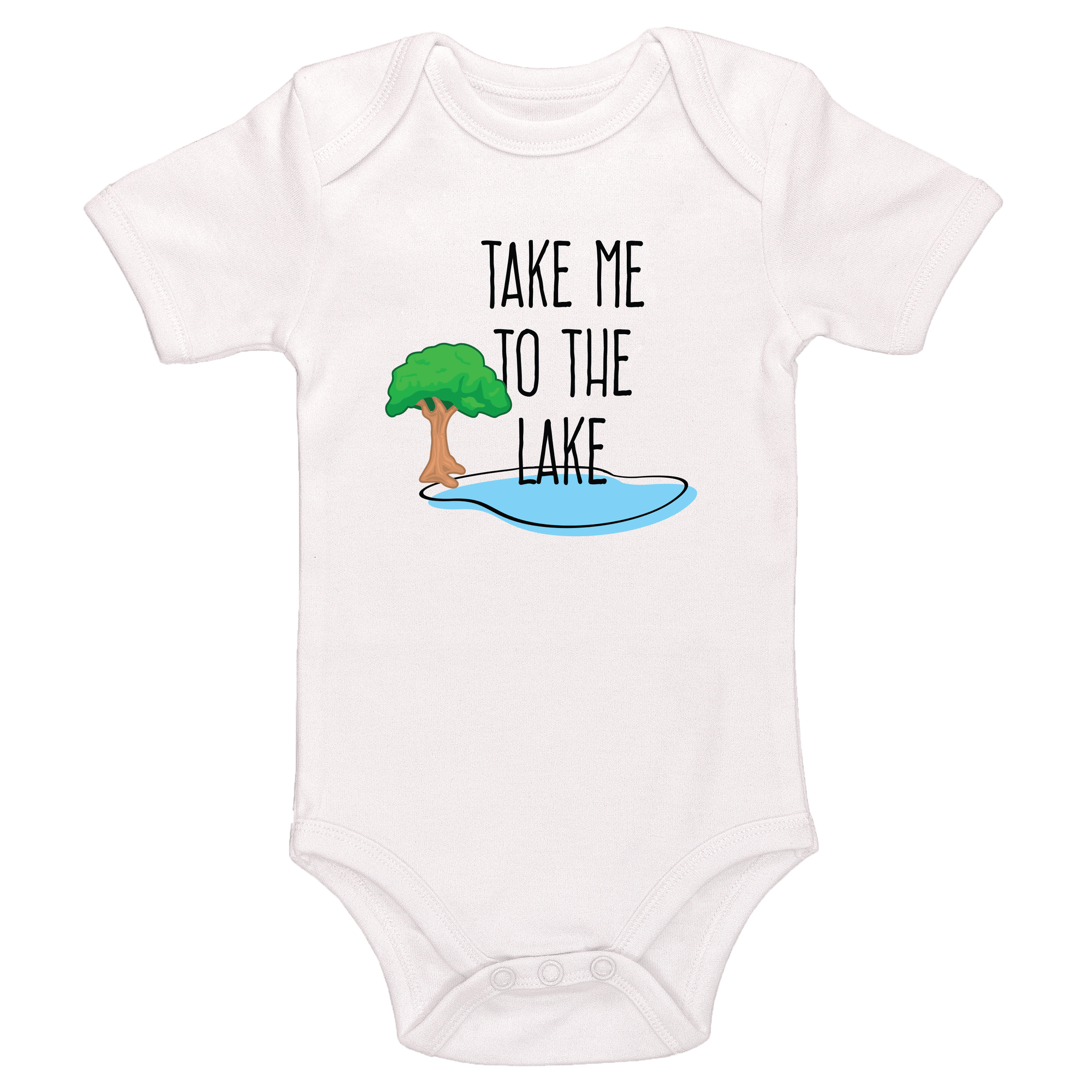 Take Me To The Lake Baby / Toddler Bodysuit