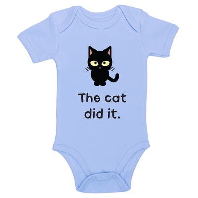 The Cat Did It Baby / Toddler Bodysuit