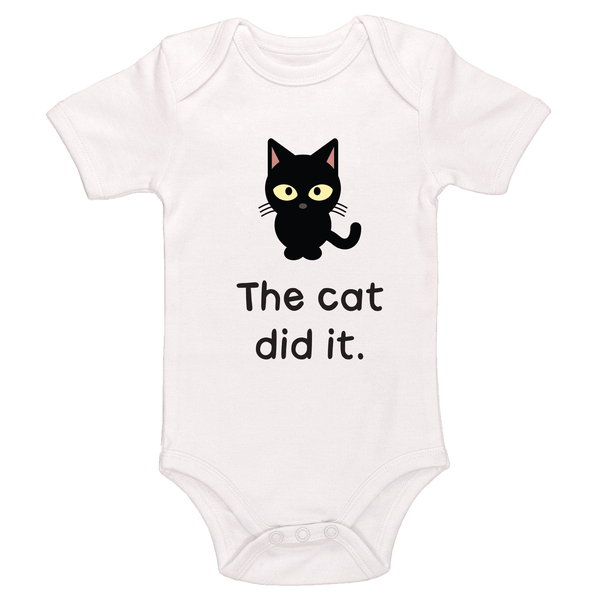 The Cat Did It Bodysuit