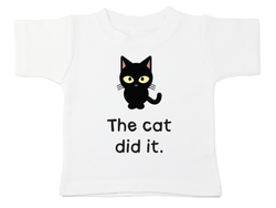 The Cat Did It Tee