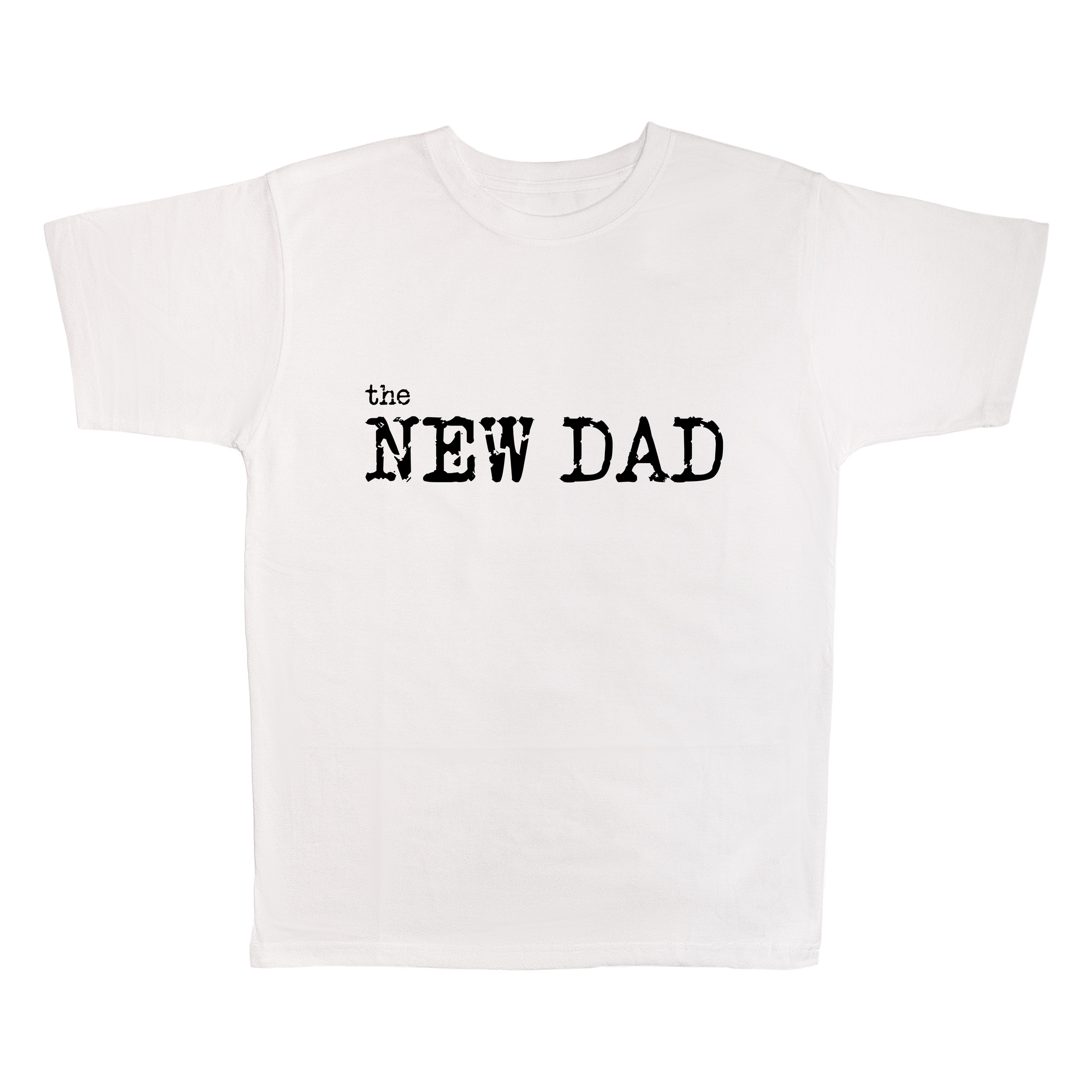 The New Dad, 100% Polyester Adult Shirt