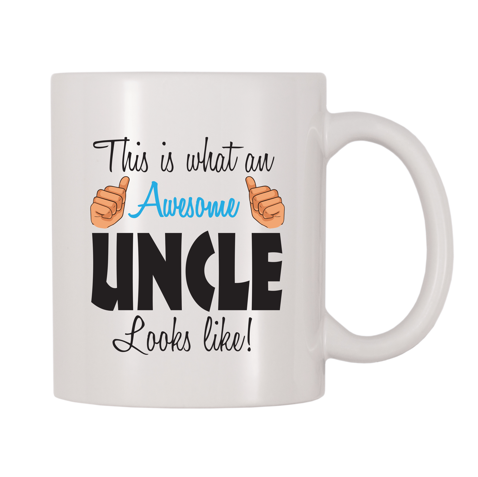 This Is What An Awesome Uncle Looks Like 11oz Coffee Mug