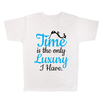 Time Is The Only Luxury I Have, 100% Polyester Adult Shirt