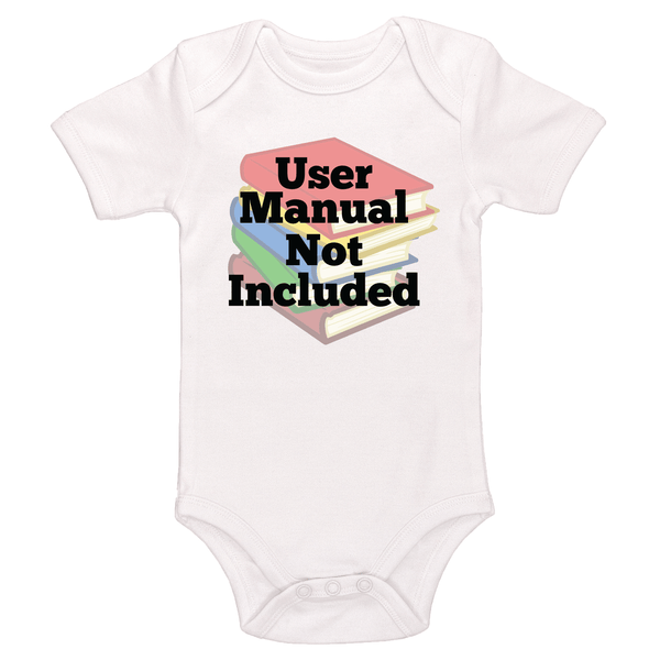 User Manual Not Included Bodysuit