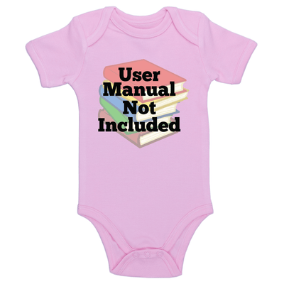 User Manual Not Included Baby / Toddler Bodysuit