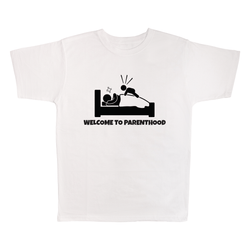Welcome To Parenthood, 100% Polyester Adult Shirt