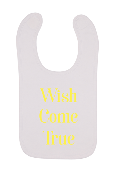 Wish Come True Baby Bib, 0-24 Months