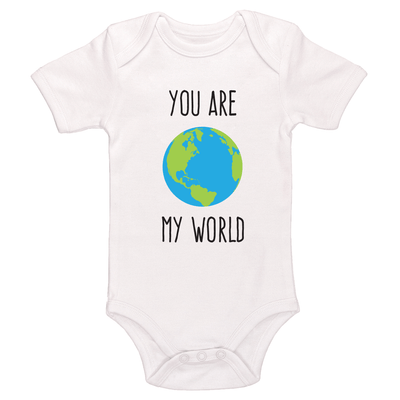 You Are My World Baby / Toddler Bodysuit
