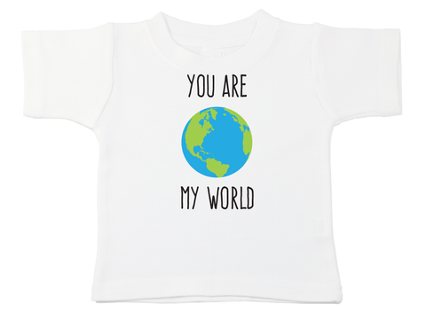 You Are My World Bodysuit