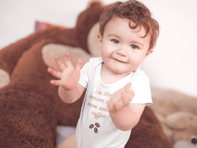 I'm The Reason Why Mom Needs Coffee Baby / Toddler Bodysuit