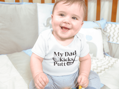 My Dad Kicks Putt Baby / Toddler Bodysuit