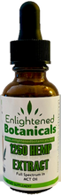 Concentrated Full Spectrum Hemp (Grown As Organic) CBD in MCT Oil base