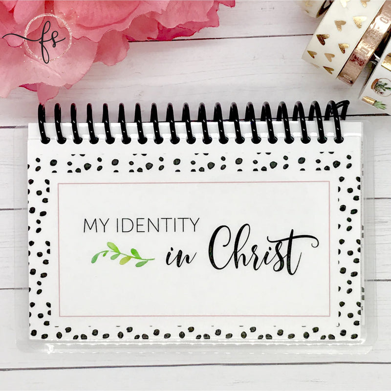 31 Scripture Books - My Identity in Christ - Faith Paper Shop