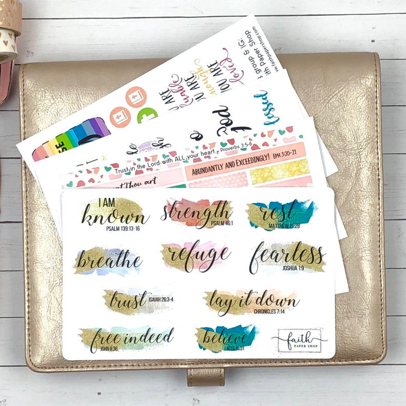 Scripture Sticker Pack - Collection 4