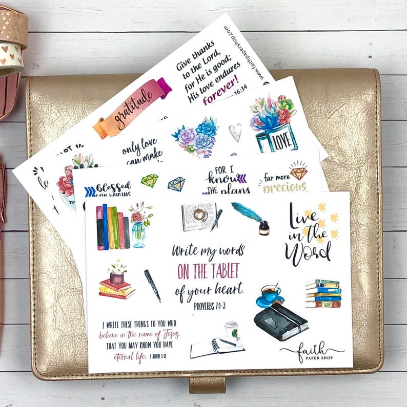 Scripture Sticker Pack - Collection 5