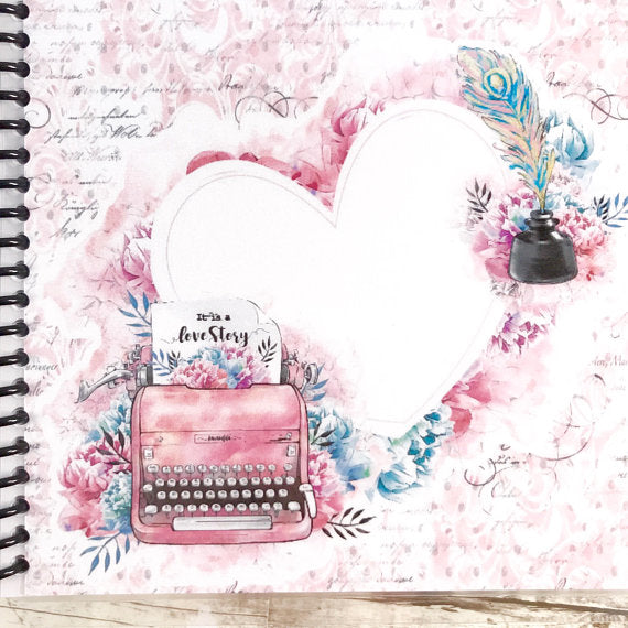 Gratitude Journal - Vintage Typewriter - Faith Paper Shop