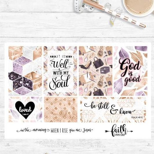 Faith Stickers - Glam Girl Boss