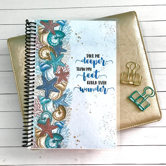 Custom Christian Journal - Take Me Deeper - Faith Paper Shop