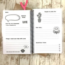 inside pages of girls journal