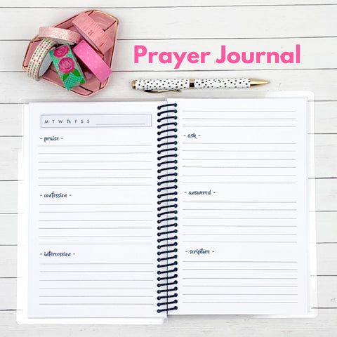 Custom Christian Journal - Summer Vibes