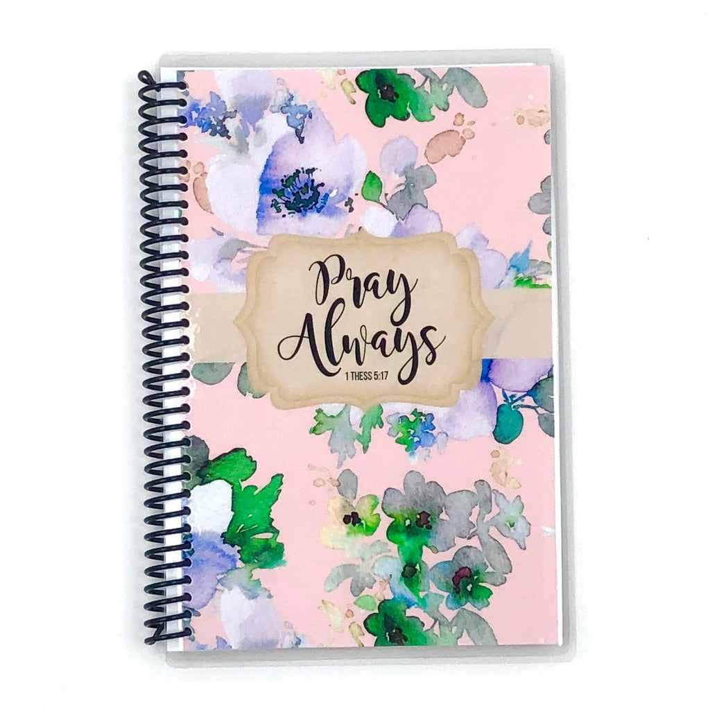 Prayer Journal - Blush Floral