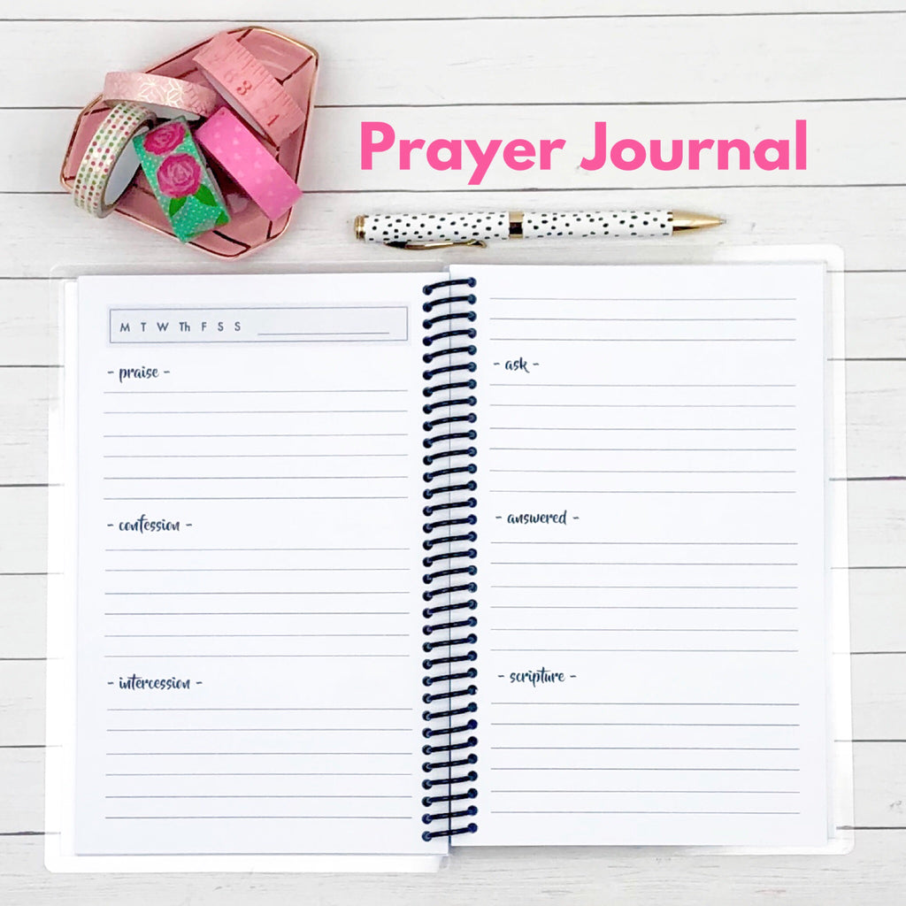prayer journal inside pages