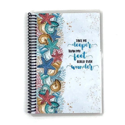 Custom Christian Journal - Take Me Deeper