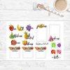 Fruit of the Spirit - Scripture Stickers - Faith Paper Shop