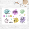 Shimmer Blast - Scripture Stickers - Faith Paper Shop