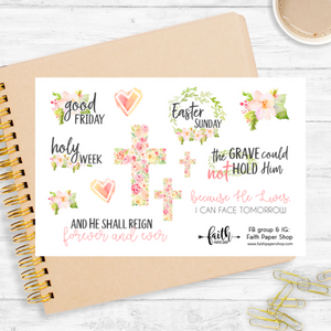 Easter - Scripture Stickers - Faith Paper Shop