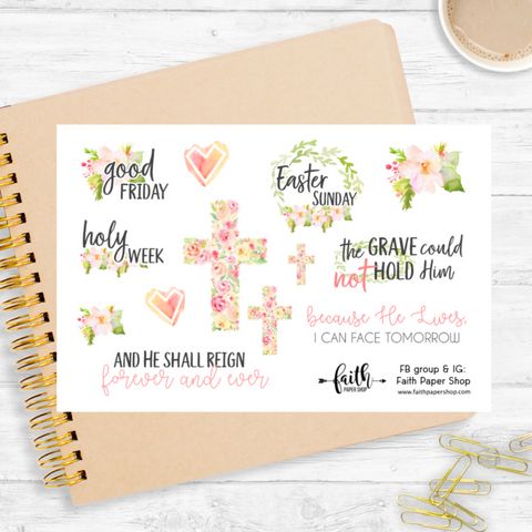 Easter - Scripture Stickers