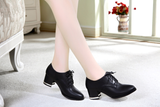 Womens Sleek Cute Casual Booties Heels