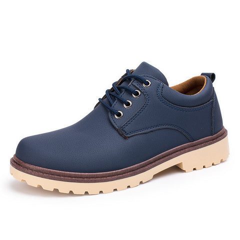 Mens Casual Mid Top Boots