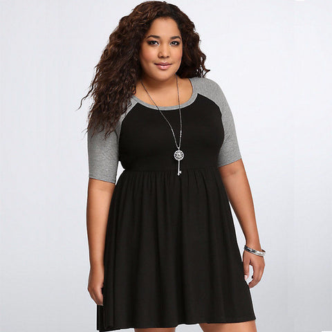 Cool Casual Plus Size Stylish Dress