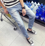 Mens Casual Wash Jeans